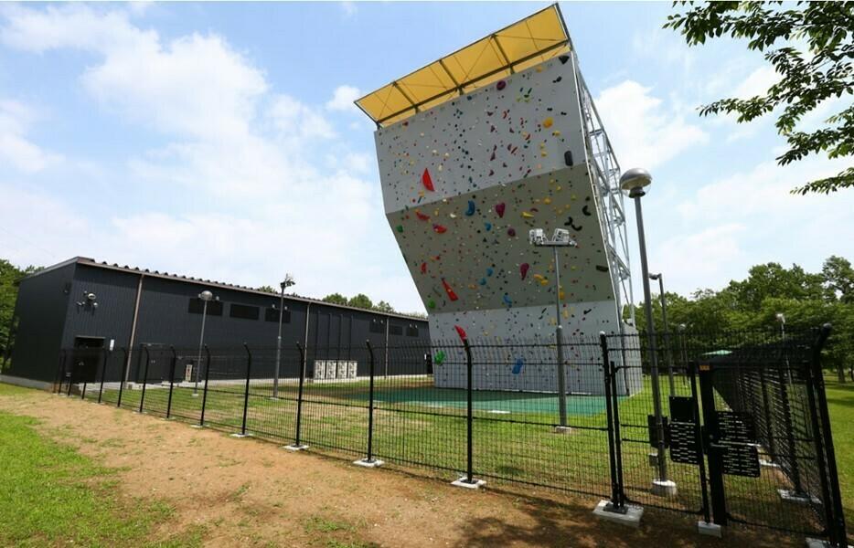 Katsushika Japan EP Climbing wall