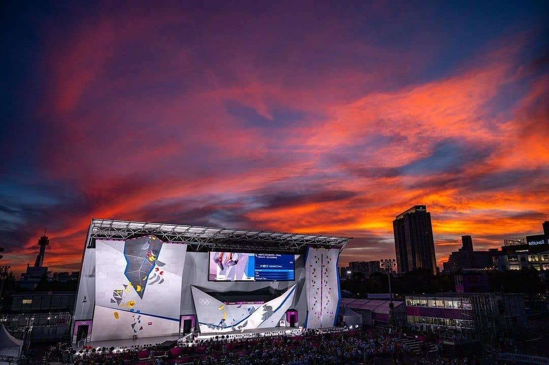 Olympics Sport climbing wall