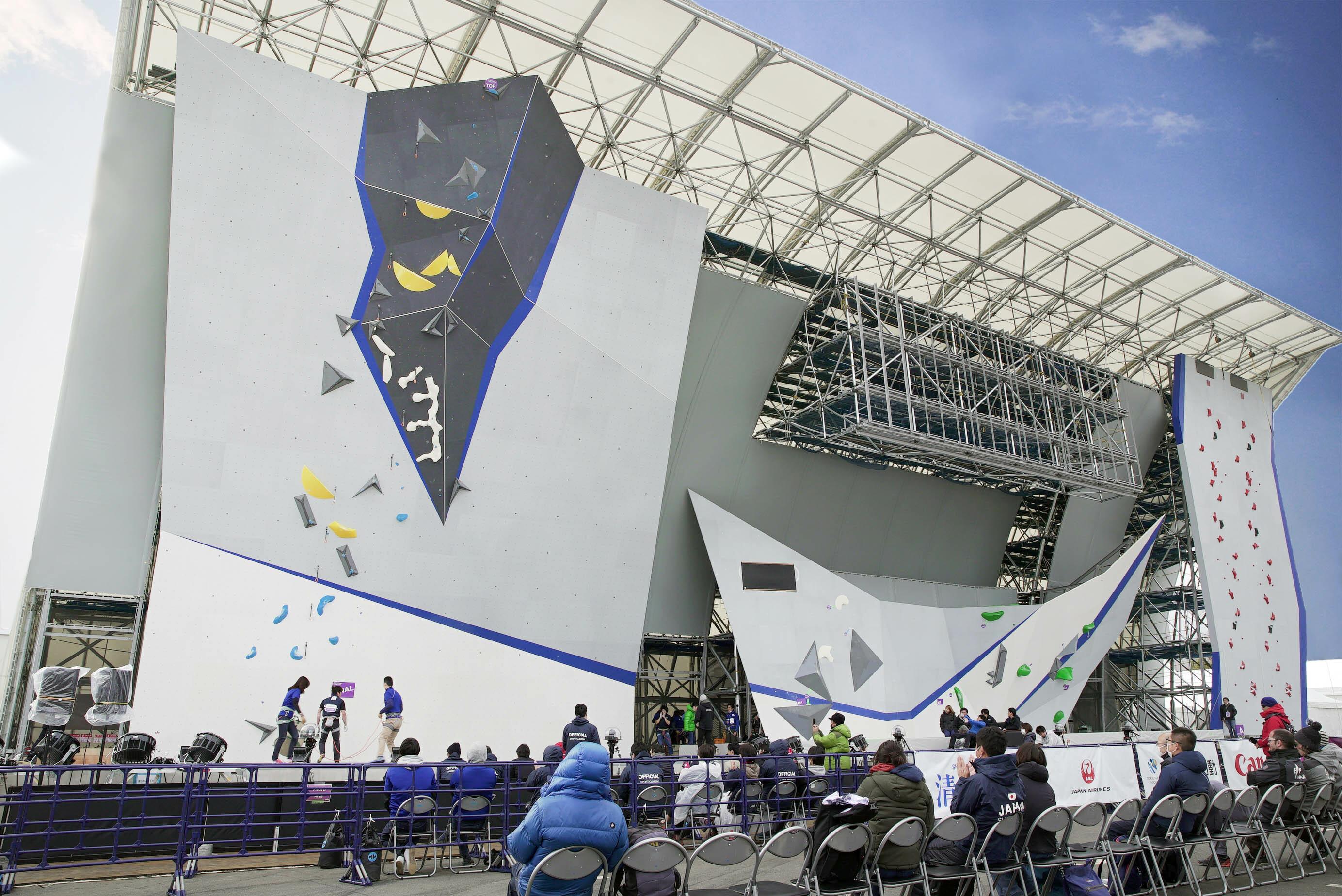 Tokyo Olympic walls