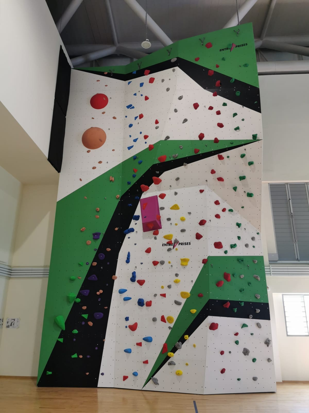 EP School Climbing wall Singapore