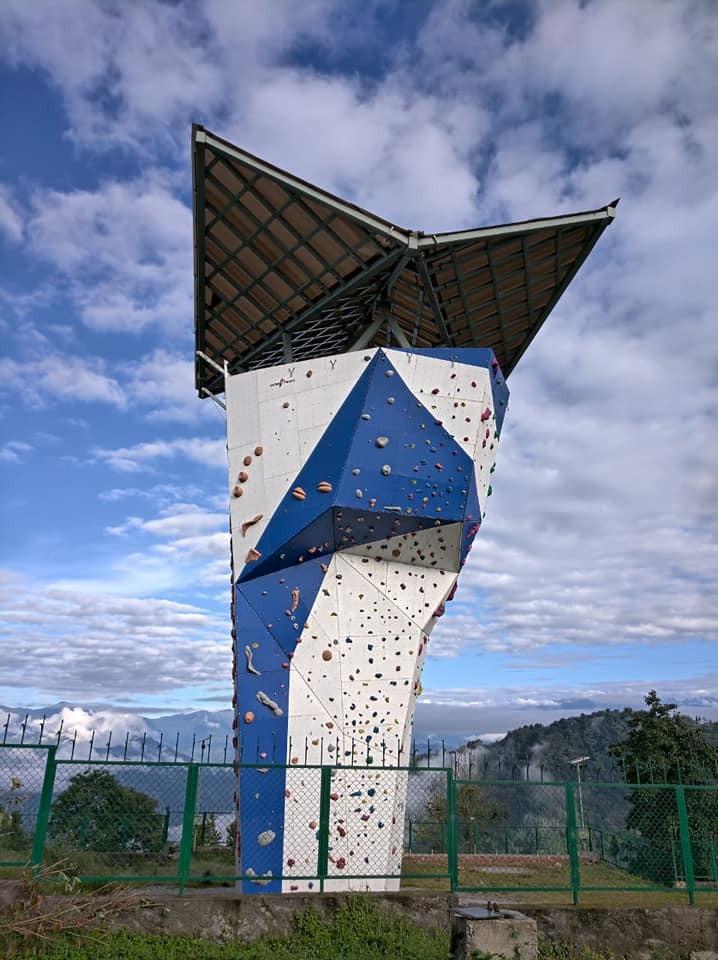 IHCAE Sikkim EP Climbing Wall