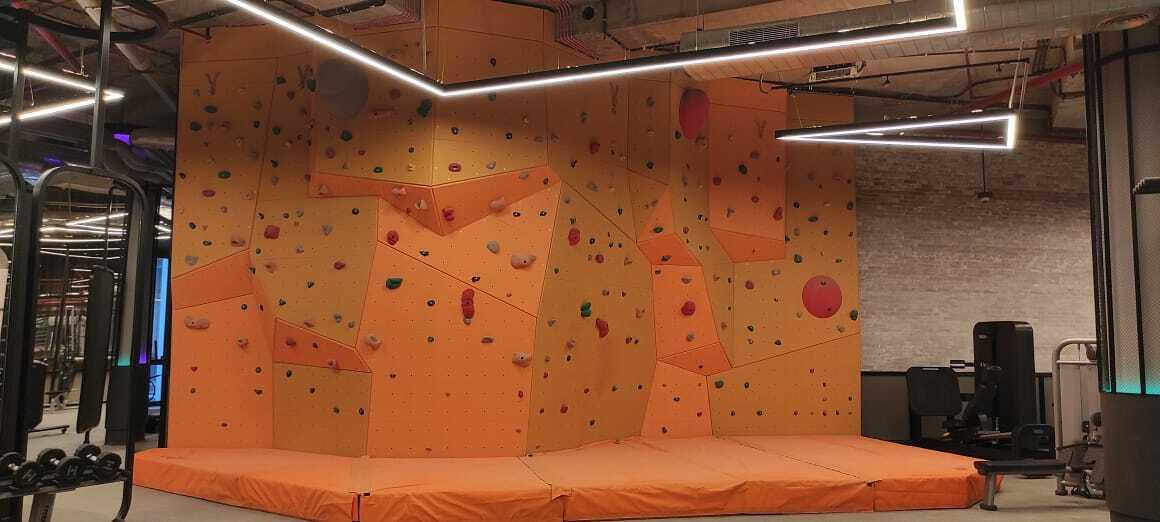 DLF The Camellias Club EP Climbing Wall